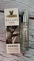 Мужской мини-парфюм с феромонами 45 мл Chanel Allure homme Sport
