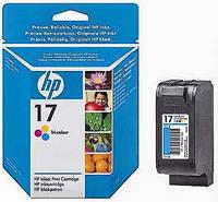 Картридж цветной HP 17 Color (C6625A), для: DJ 816C, 825C, 840C, 843C, 845C (0150.1)