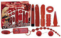 """Эротический подарочный набор секс игрушек """"Red Roses Set"""" 560936"""