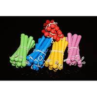 Бигуди цветные, пластик, (50 шт), РР-0600