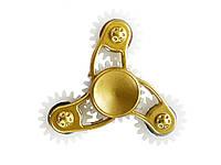 Спінер з металу з крутими вставками-обважнювачі  Золото з білим