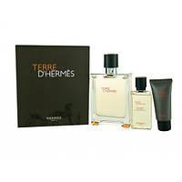 Hermes Terre D'Hermes SET (EDT 100ml + 12ml + AFTER SHAVE BALM 40ml)(ORIGINAL)