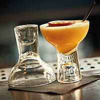 Бокал для коктейля Маргарита 155 мл. двухсторонний на короткой ножке, стеклянный Shorty MargaritaCoupe, Libbey