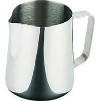 Молочник (Питчер) нержавеющая сталь 800 мл. с ручкой, серый APS