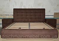 """Уютная двухспальная кровать с прикроватными тумбочками """"Жаклин"""", фото 1"""