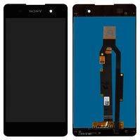 Дисплей для мобильного телефона Sony F3311 Xperia E5, черный, с сенсорным экраном, high-copy