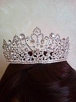 Корона, диадема, тиара в серебре, высота 5,5 см.