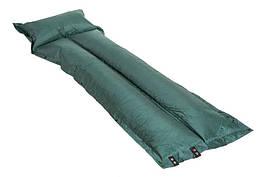 Килимок самонадувающийся з подушкою SJ-G05-8 одномісний матрац в намет для туризму 180*60*2,5 см