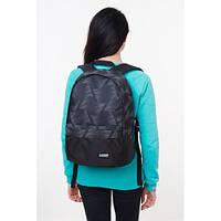 Стильный рюкзак в классическом черном цвете с красивым принтом. Хорошее качество. Удобный рюкзак. Код: КДН2023