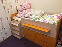 """Кровать - чердак с ящиками """"Непоседа"""" 1600х800, фото 1"""