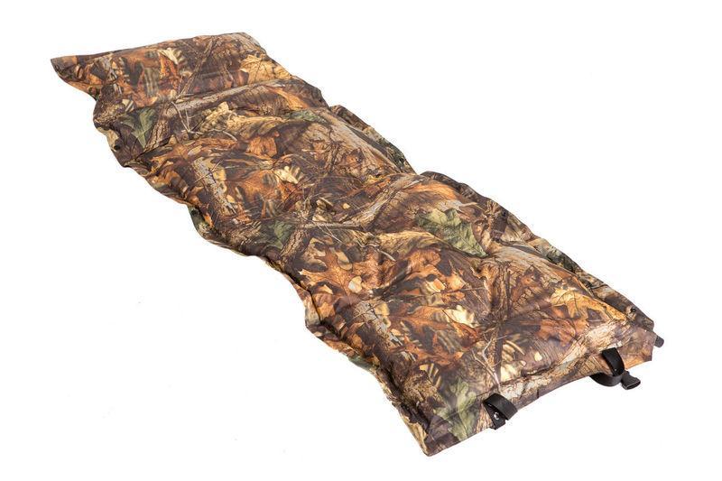 Коврик самонадувающийся с подушкой G05-4B туристический матрас в палатку 180*60*2,5 см