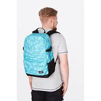 Эксклюзивный молодежный рюкзак в стильном голубом цвете. Отличное качество. Вместительный рюкзак. Код: КДН2026