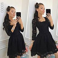 Гипюровое платье с пышной юбкой Нежность ЯЛ, фото 1