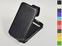 Откидной чехол из натуральной кожи для BlackBerry Q20 Classic