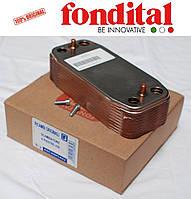 Теплообменник вторичный 14 пластин. Fondital/Nova Florida, фото 1