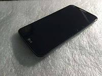 Дисплей для LG D802 G2/D805 + touchscreen, черный, с передней панелью, оригинал (Китай), 20 pin
