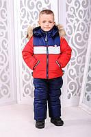 Комбинезон для мальчика Ральф (зима) - красный: 22,24,26,28,30