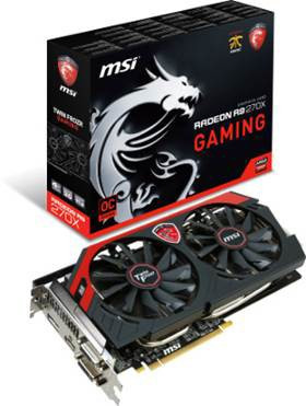 Видеокарта MSI Radeon R9 270X GAMING 2GB GDDR5 Б\У