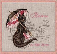 118 K Набор для вышивания крестом NIMUЁ - La Belle Epoque,Matouvue - Красивая Эпоха