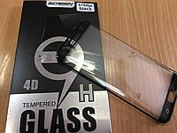 Защитное стекло 3D/4D BLACK для Samsung G935F Galaxy S7 Edge