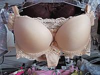 Комплект нижнего белья Balaloum, бюстгальтер литой поролон + трусики стринги. Шикарное нижнее белье VIP., фото 1