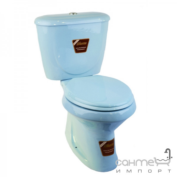 Заказать бачок для унитаза монако голубой радуга сантехника калуга