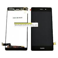 Модуль (сенсор + дисплей LCD) Huawei P8 Lite чорний