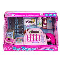Игрушка кассовый аппарат с аксессуарами cash register xs-612