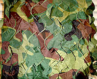 Маскировочная сетка, защитная, затеняющая 1,5х6 м Camo камуфляж, фото 1