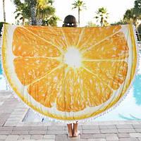 Пляжный коврик Апельсин