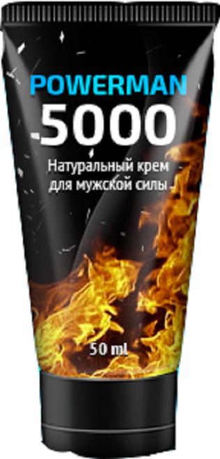 POWERMAN-5000 - Крем для увеличения длины и объёма (Павермен), 75 мл
