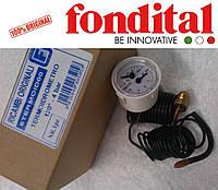 Термоманометр 40 мм. Fondital/Nova Florida, фото 1
