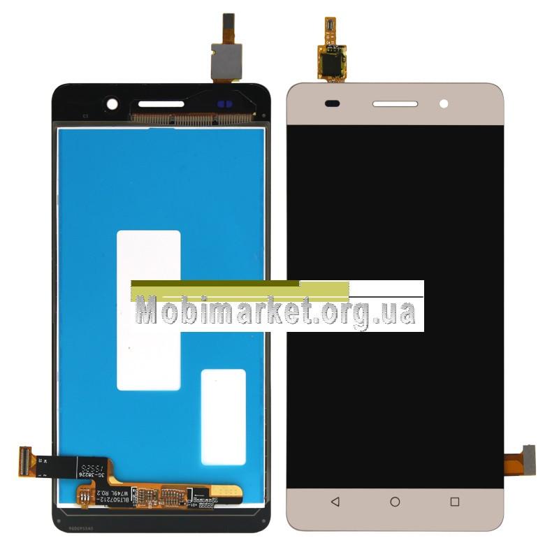 Модуль (сенсор+дисплей) для Honor 4A / Huawei Y6 (SCL-L01, SCL-L04, SCL-U31, SCL-L21) gold