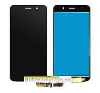 Модуль (сенсор + дисплей LCD) Huawei Honor 4a/Y6 чорний