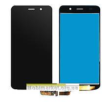 Модуль (сенсор+дисплей) для Honor 4A / Huawei Y6 (SCL-L01, SCL-L04, SCL-U31, SCL-L21) black, фото 3