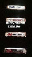 Шильдик, логотип HYUNDAI для автомобильного ковра