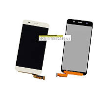 Модуль (сенсор + дисплей LCD) Huawei Honor 4A/Y6 білий
