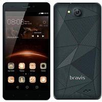 """Смартфон Bravis A503 JOY Black черный (2SIM) 5"""" 1/8 GB 2/8 Мп 3G оригинал Гарантия!"""