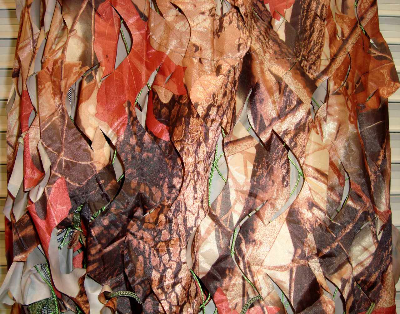 Маскировочная сетка, защитная, затеняющая 1,5х6 м Forest лес, коричневая