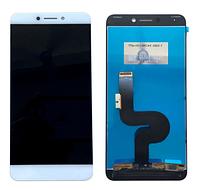 Дисплей (экран) для LeTV One 1s X500/X501 + с сенсором (тачскрином) белый Оригинал