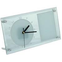 Часы для сублимации 30*16  стеклянные зеркальные