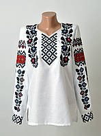 Жіноча вишиванка з машинною вишивкою 9652263d3711b
