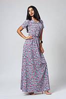 Легкое летнее платье из трикотажа софт