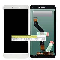 Модуль (сенсор + дисплей LCD) Huawei P8 lite 2017 Pra-la1 білий