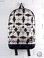 Рюкзак (с отделением для ноутбука до 17″) Staff - 27 L print Art. RB0048 (бежевый | чёрный)