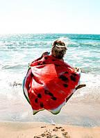 Пляжный коврик Арбуз