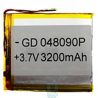 Аккумулятор GD 048090P 3200mAh Li-ion 3.7V
