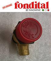 Запобіжний клапан 3 бар Fondital/Nova Florida, фото 1