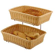 Корзинка для хлеба и булочек - прямоугольная GN 1/2