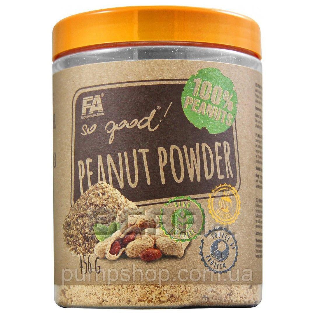 Арахисовая паста-порошок Fitness Authority So Good! Peanut Powder - 456 г